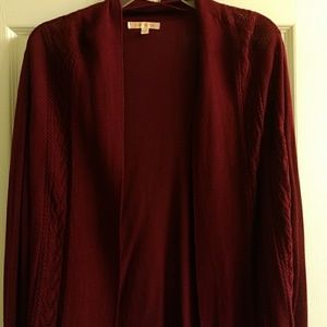Open front sweater  nwot